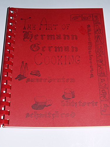 The Art of Hermann German Cooking Cookbook Missouri