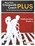 img - for New York Crosswalk Coach PLUS Grade 4 Math with Answer Key book / textbook / text book