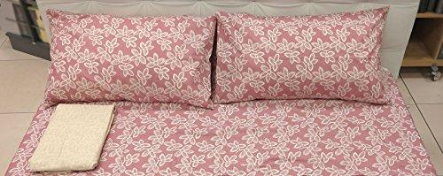 Lenzuolo OFFBEAT rosa matrimoniale ZUCCHI - COLLEZIONE JOY (sopralenzuolo 240x280 + sottolenzuolo 175x200 + 2federe 50x80)
