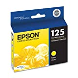 Epson DURABrite Ultra 125 Standard-capacity Inkjet Cartridge (Yellow) (T125420)