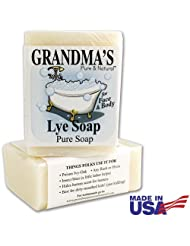 Grandma's Pure Lye Soap For Dry Skin With No Additives