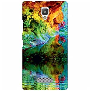 Lenevo A2010 Back Cover - Silicon Scenic Designer Cases