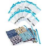 VonHaus 12 X Pack Vacuum Storage Saving Space Clothes Bags 85cm x 50cm