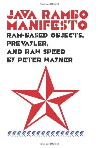 Java Rambo Manifesto: Ram-Based Objects, Prevayler, And Raw Speed