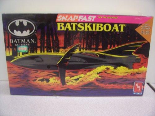 Batman Returns Snap Fast Batskiboat Model Kit
