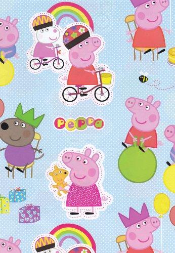 Peppa Pig & George - Giftwrap (2 sheets folded)