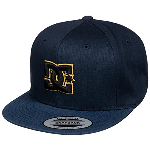 DC Snappy Snapback Youth Cap Blue Iris/Lemon Chrome One Size