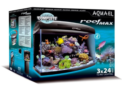 Aquael Reef Max Aquarienset Meerwasseraquarium Salzwasser