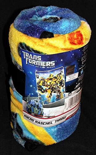 "Transformers Toddler Micro Raschel Throw - 46"" x 60"" - 1"
