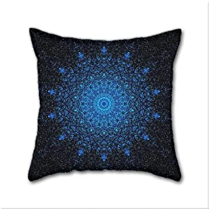 Decorative Pillow Cover Diy : Amazon.com - Natural cotton DIY Decorative Pillow Cases, Mandala Cotton Linen Square Throw ...