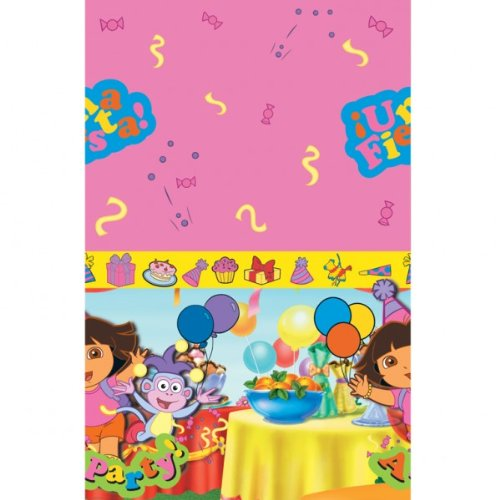 Dora the Explorer Party Tablecover, New design, plastic