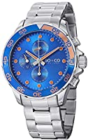 SO&CO York Men's 5014.2 Yacht Club Analog Display Analog Quartz Silver Watch by SO&CO New York