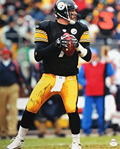 Signed Ben Roethlisberger Photo - 16x20 - JSA Certified - Autographed NFL Photos