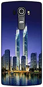 Snoogg Skyscrapers In The Bay 2696 Designer Protective Back Case Cover For LG G4