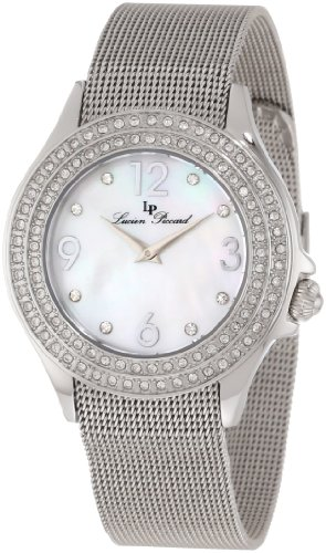 Lucien Piccard Women's 11674-22MOP Balmhorn White Mother-Of-Pearl Dial Watch