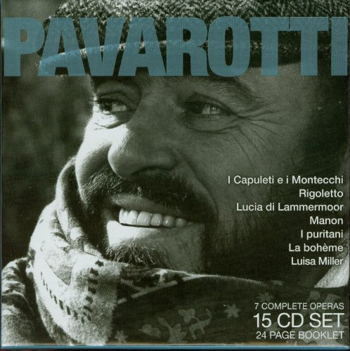 Legendary Performances of Pavarotti [Box Set] by Vincenzo Bellini,&#32;Gaetano Donizetti,&#32;Jules Massenet,&#32;Giacomo Puccini and Giuseppe Verdi