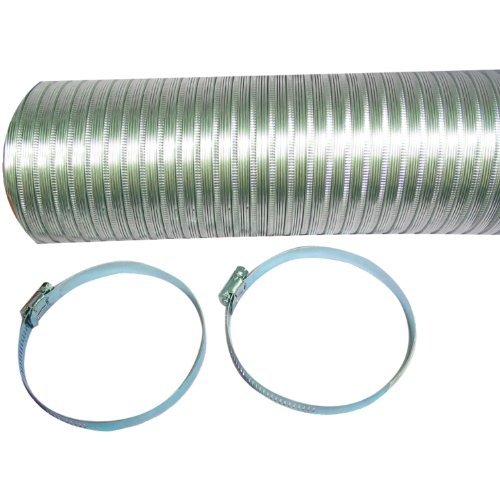 "A048Mx/9 Semi-Rigid Flexible Aluminum Duct (4"" X 8"
