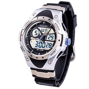 Time100 Multifunktion-Sport-Analog-Digital-Traucheruhr W40013M.01A