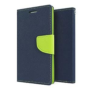 Kapa Mercury Goospery Fancy Diary Wallet Flip Case Cover for Xiaomi Mi 4i - Blue/Green