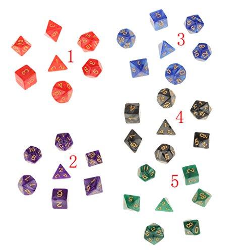 7-piezas-juguetes-de-mesa-dados-de-patron-perla-con-puntitos-dorados-milti-caras-trpg