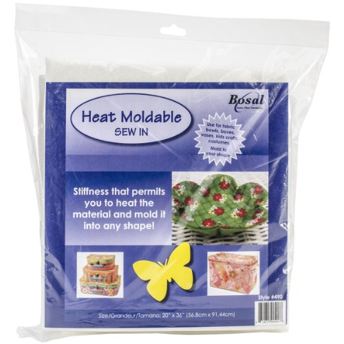 Bosal Heat Moldable Stabilizer Craft Supplies, 20 by 36-Inch