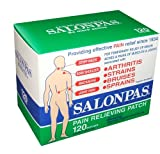 Hisamitsu Salonpas Pain Relieving Patches 120 Patches Per Box
