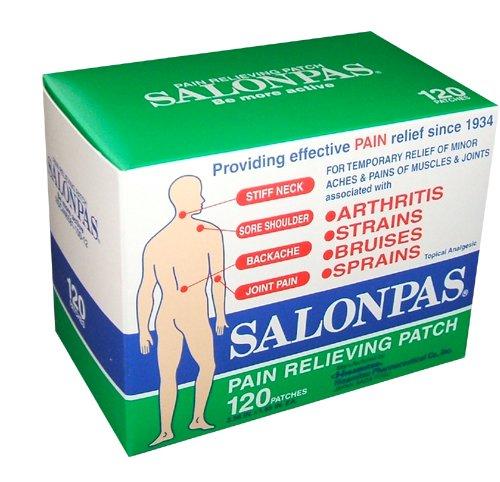 Hisamitsu correctifs Salonpas soulager la douleur 120 patches par boîte