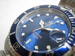 ELGIN(エルジン)ブルー サブマリーナ 自動巻 FK531S-BL2