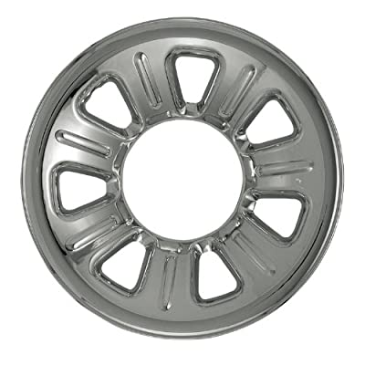 "Bully Imposter IMP-21, Ford, 15"" Silver Replica Wheel Cover, (Set of 4)"