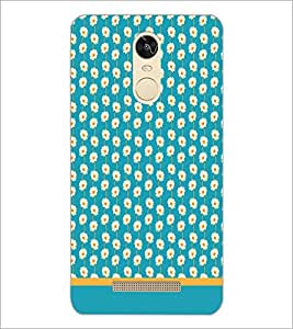 PrintDhaba Floral Pattern D-1892 Back Case Cover for XIAOMI REDMI NOTE 3 (Multi-Coloured)
