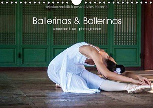 Ballerinas & Ballerinos (Wandkalender 2017 DIN A4 quer): Tanzende Künstlerinnen und Künstler vor urbaner Kulisse. (Monatskalender, 14 Seiten )