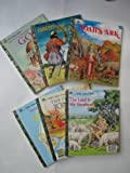 img - for Six Classic Golden Books (Bible-related): Noah's Ark, David and Goliath, My Little Golden Book about God, The Lord is My Shepherd, The Story of Jonah, and The Little Golden Book of Hymns book / textbook / text book