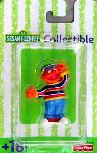 Sesame Street Ernie Collectible Figure 2.5""