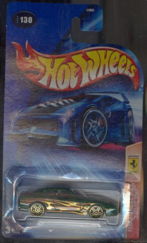 Hot Wheels 2004 Ferrari Heat 3/5 456M GREEN 130 1:64 Scale - 1