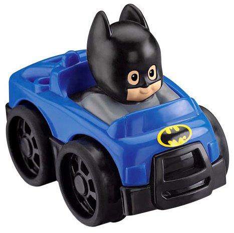 Little People® Dc Super Friendstm Wheeliestm Batman front-110179