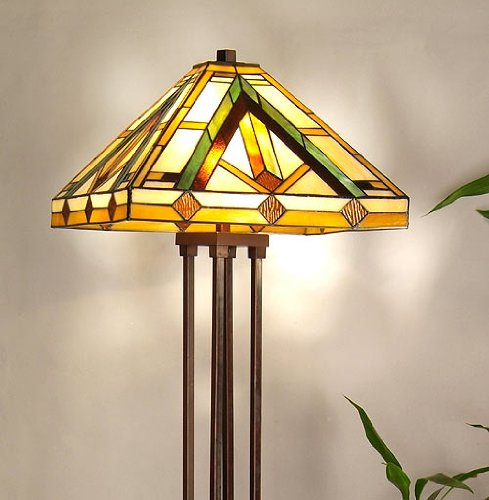Tiffany Style Floor Lamp -Obelisque-