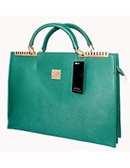 Designer Branded Faux Leather Ladies Handbag Office Bag