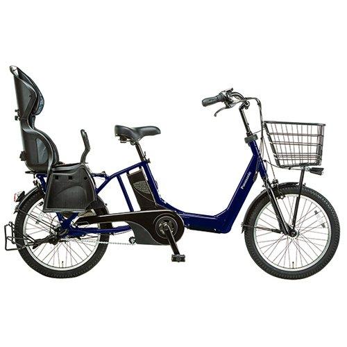 Panasonic(パナソニック) 2015年モデル ギュットアニーズ(Gyutto ANNYS) カラー:ディープブルーメタリック BE-ENMA033-V チャイルドシート付き電動アシスト自転車 専用充電器付