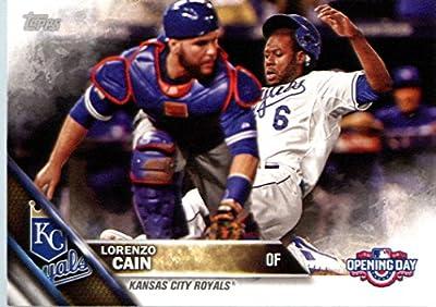 2016 Topps Opening Day #OD-44 Lorenzo Cain Kansas City Royals Baseball Card