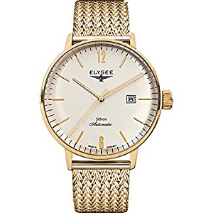 ELYSEE Men's 13281M Executive-Edition Analog Display Automatic Self Wind Gold Watch