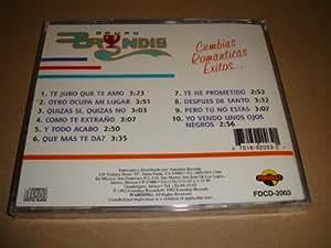 GRUPO BRYNDIS CUMBIAS ROMANTICAS EXITOS (AUDIO CD 1992)