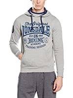 Lonsdale Sudadera Towie (Marl Grey)