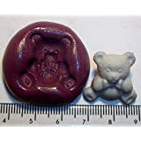 Silicone Mould Teddy Bear Icing Cake Cupcake Decoration