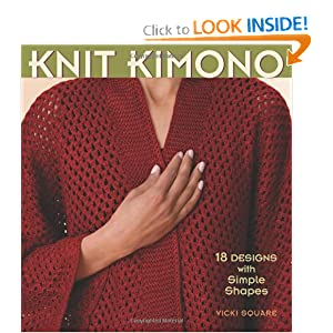 Knit Kimono: 18 Designs with Simple Shapes [Paperback]