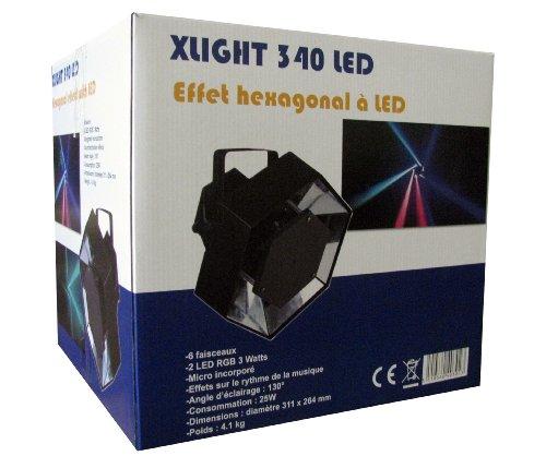 Jeu Lumière EXPELEC 340 LED - Multi-fais Livraison offerte sur ce produit chez mon commerçant Mondial Relay avec le code MR2012