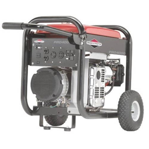 Briggs & Stratton Pro Series 30342 5,000 Watt 7.5 HP OHV Gas Powered Portable Generator With Wheel Kit