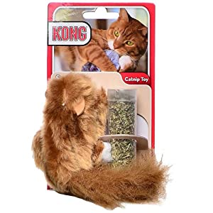 KONG Squirrel Catnip Toy