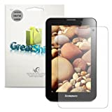 GreatShield Ultra Smooth Anti-Scratch Screen Protector Shield Film for Lenovo IdeaTab A3000 (3 Pack) - Lifetime Replacement Warranty (Anti-Glare (Matte) Finish)