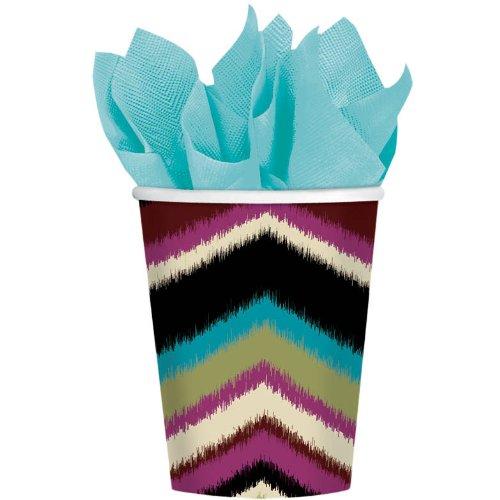 cup 9 oz fashion stripe