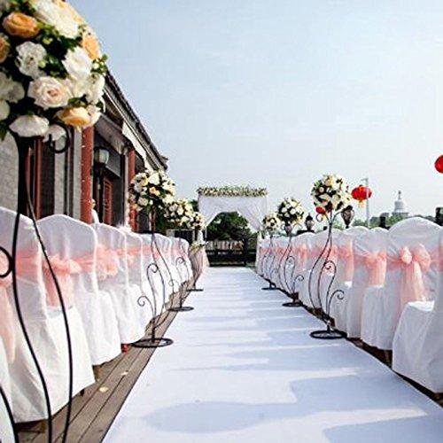 OurWarm Satin Banquet Chair Cover 10PCS